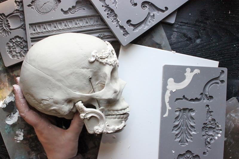 Paper clay casting technique