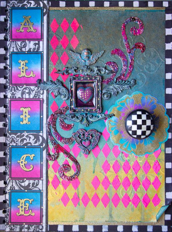 Art Journal Cover Design