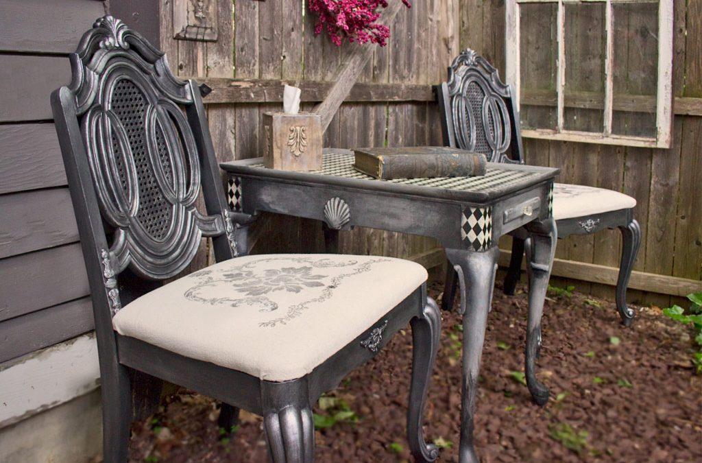 """""""Antique"""" Silver Furniture Finish. """" - Antique"""