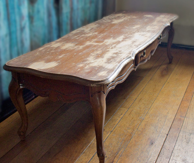 Charmant Weathered Furniture Finish | Thicketworks For Heirloom Traditions Paint    Before